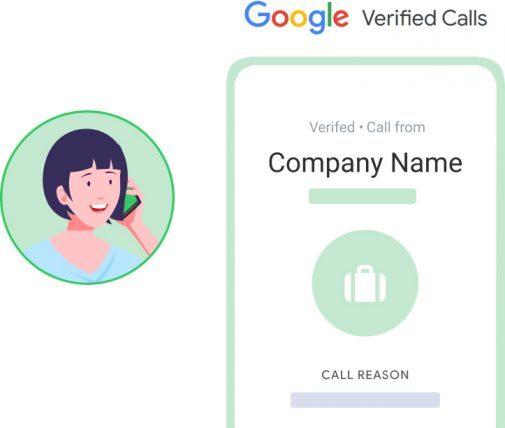 Google verified calls in Frejun